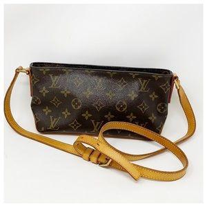 Authentic Louis Vuitton Trotteur Crossbody